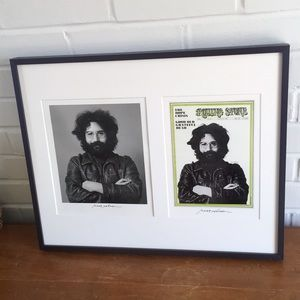 Set of Limited Edition Jerry Garcia Prints Signed